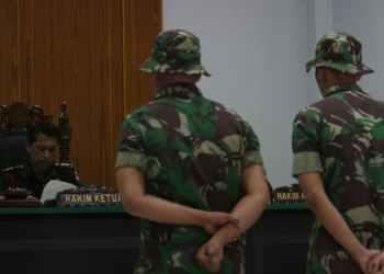 Ilustrasi sidang militer. Septianda Prananda/Antara Foto