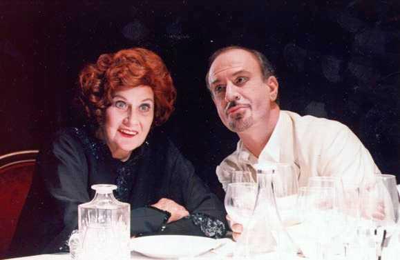 Alida Valli e Sebastiano Lo Monaco - Questa sera si recita a soggetto - 1995/97