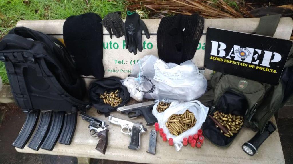 Baep da PM de Campinas mata sete suspeitos de roubo a bancos