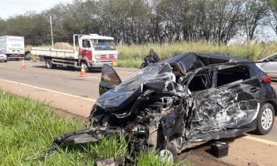 Grave acidente de trânsito mobiliza o Águia da PM, em Piracicaba