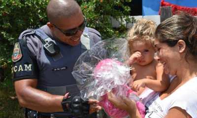 Polícia Militar de Piracicaba doa 470 brinquedos a crianças carentes