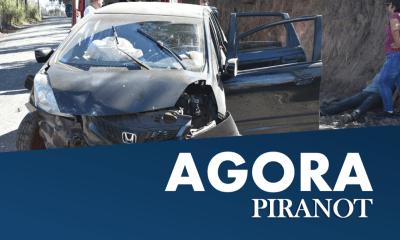 Capotamento de veículo deixa três vítimas em avenida de Piracicaba (SP)
