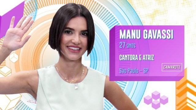 Quem é Manu Gavassi do BBB20