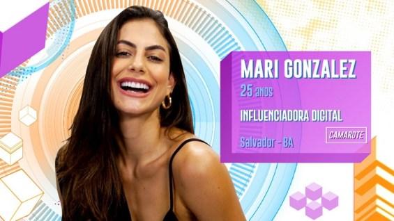 Quem é Mari Gonzalez do BBB20