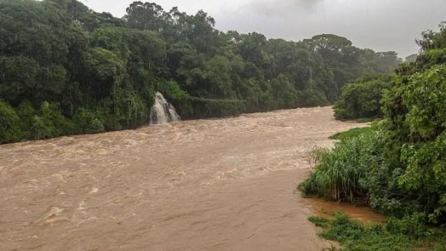 Uma foto do Rio Piracicaba