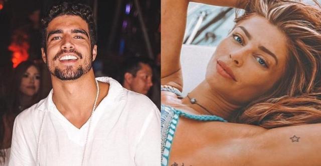 Caio e Grazi se casaram em cerimônia secreta nas Maldivas (Foto: Reprodução)