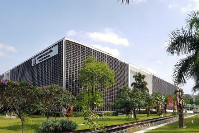 Fachada da Alesp (Assembléia Legislativa de São Paulo)