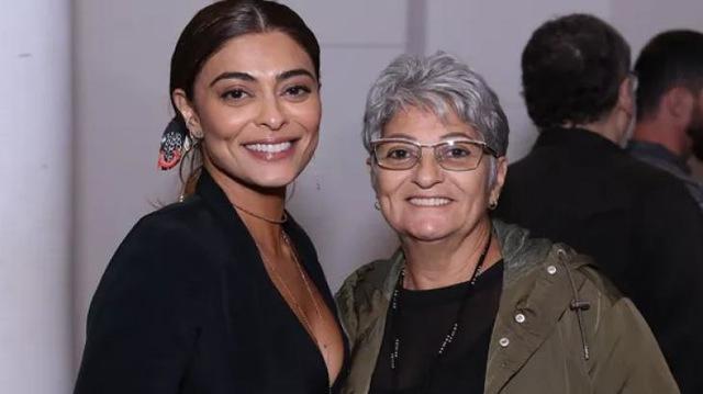 Juliana Paes e a mãe, Regina