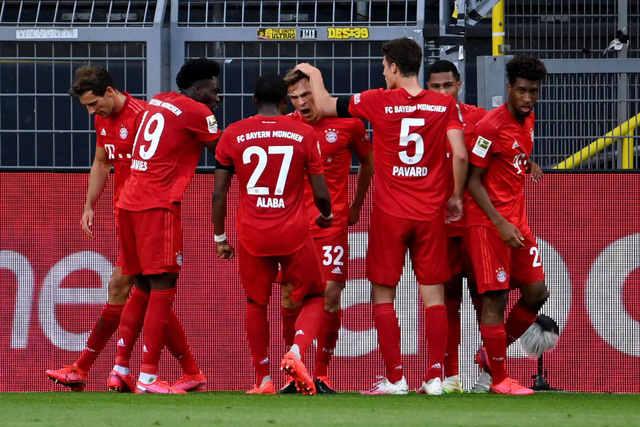 Bayern vence o Borussia e abre sete pontos na liderança do Alemão