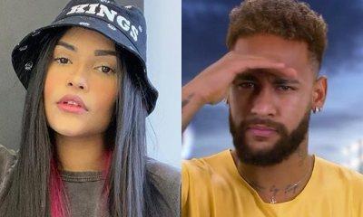 Flayslane desmente Neymar