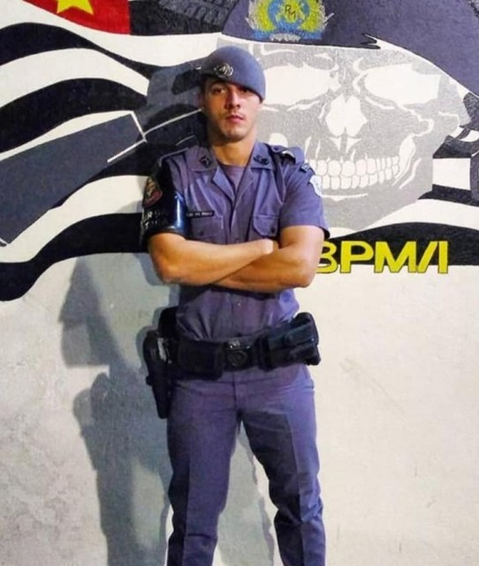 Paulo Henrique Varuzza Lais, soldado de 26 anos do 10º Baep de Piracicaba