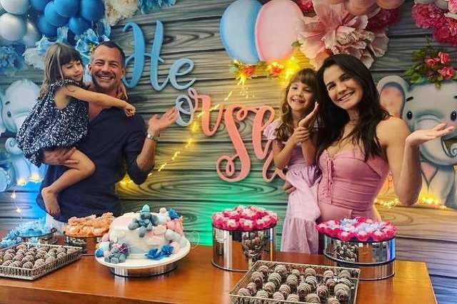 Kyra Gracie e Malvino Salvador revelam que terão primeiro filho menino