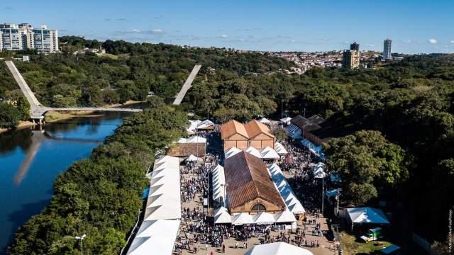 Uma foto da Festa das Nações, tradicional evento de Piracicaba que acontece todo ano