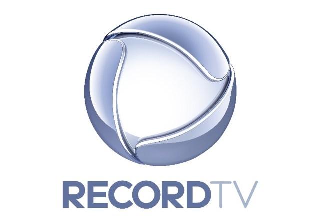 Uma foto do logo da Record