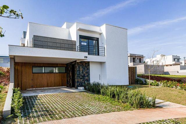 Uma foto da casa personalizada no Condomínio Villa D´Aquila em Piracicaba