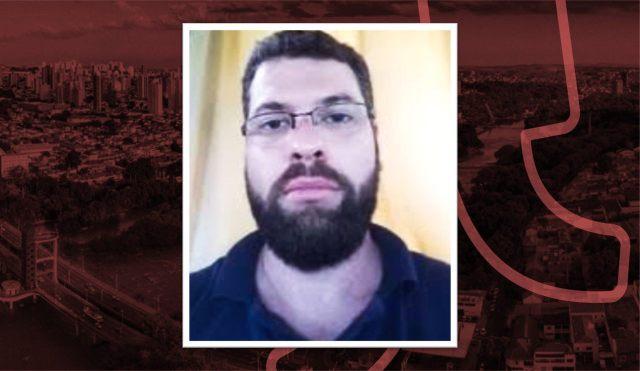 Uma foto de rosto da vítima Thiago