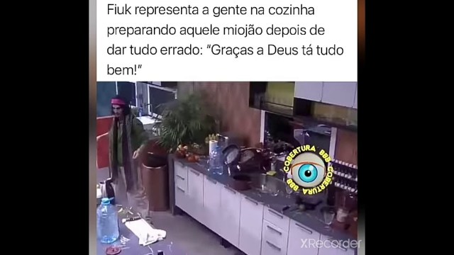 Fiuk rende memes no BBB21