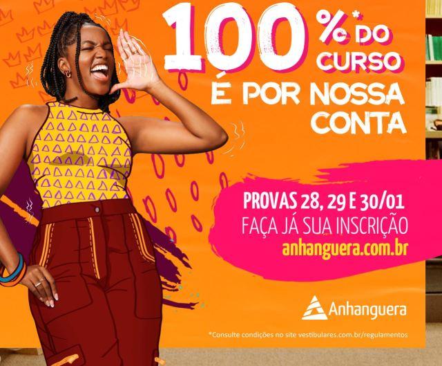 Faculdade Anhanguera de Piracicaba abre concurso de bolsa de estudo 100%