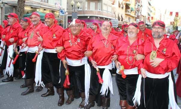 Orden de desfile fiestas 2014