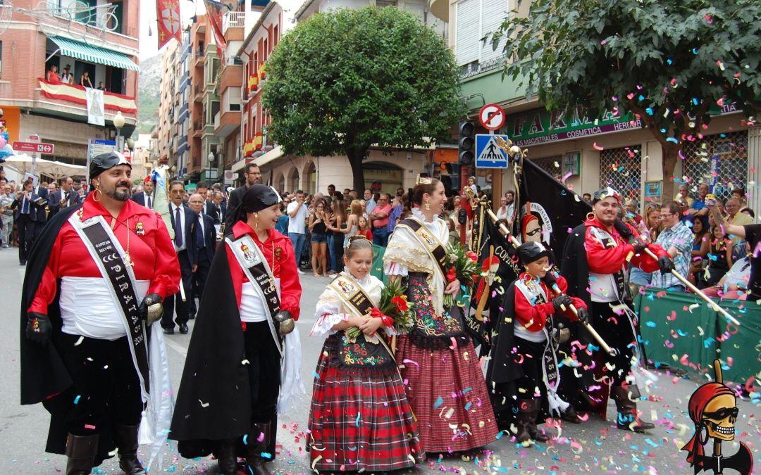 Desfile Cargos Día 5 y Recogida Madrinas