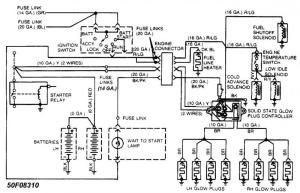 Wiring diagram for an 88 F250 IDI Diesel  Pirate4x4Com
