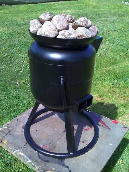 Gas Tank Pot Belly Stove