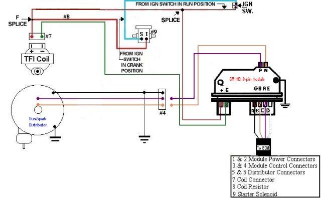 Chevy Hei Distributor Module Wiring Diagram Nilzanet – Hei Wiring Diagram