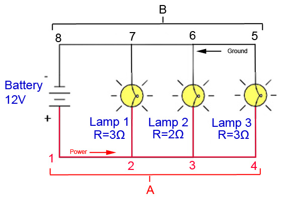 wiring pot lights in parallel diagram wiring image wiring diagram for lights in parallel the wiring on wiring pot lights in parallel diagram