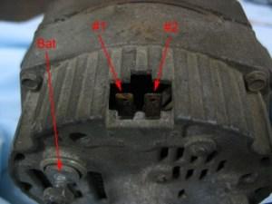 84 ho alternator wiring questions | GBodyForum  '78'88