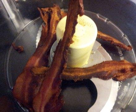 Bacon slices