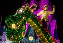 Main Street Electrical Parade in Walt Disney World | Pete's Dragon Float