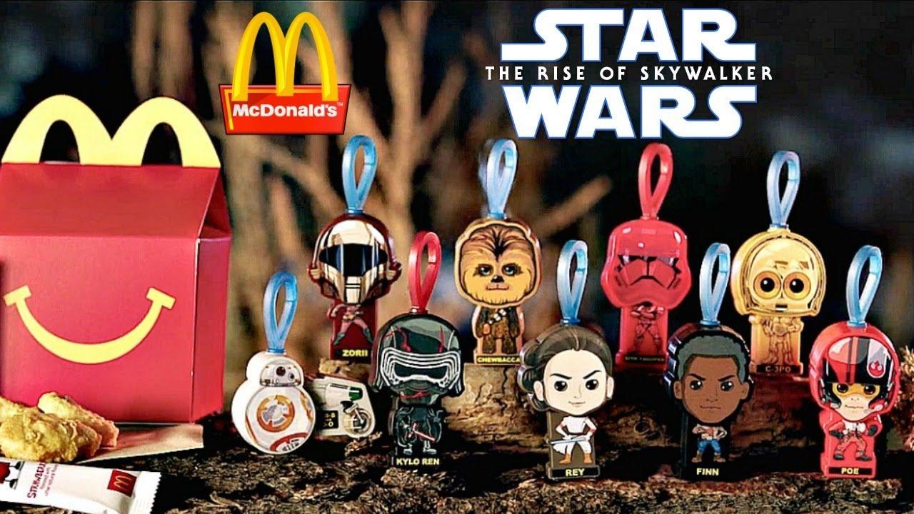 McDonalds Walt Disney Movie Figures Promos