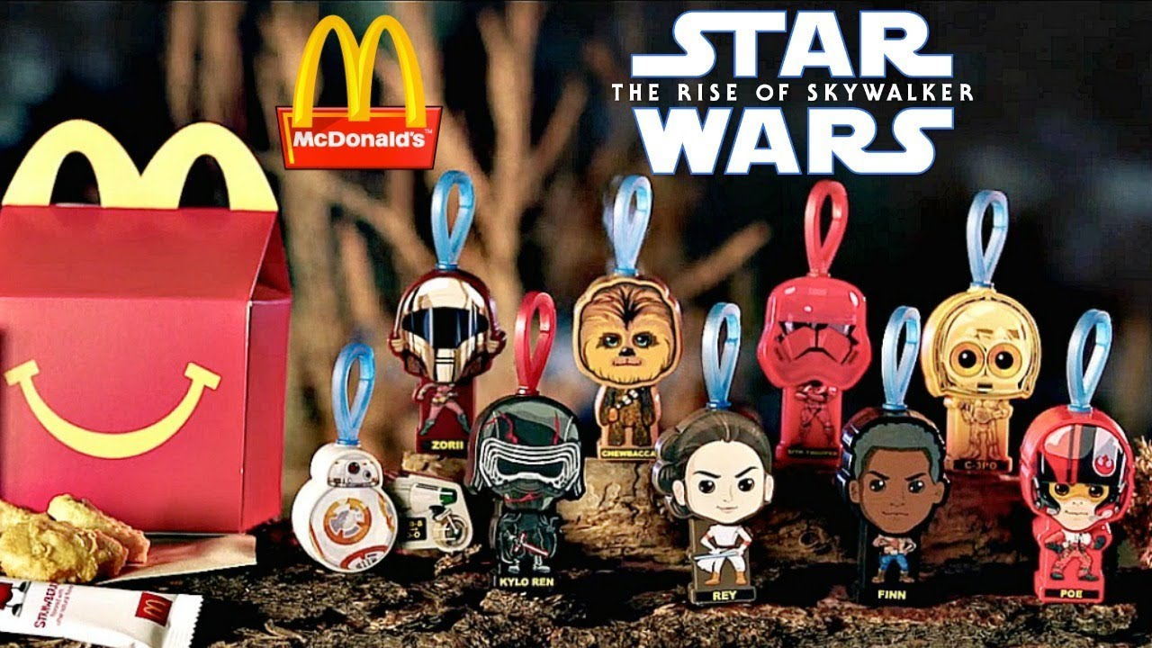 Mcdonalds To Release Star Wars Rise Of Skywalker Happy Meal Toys