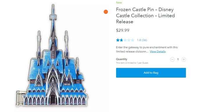 Shop Disney Releases Extra Disney Castle Collection Items Irate Collectors Review Bombed The Products