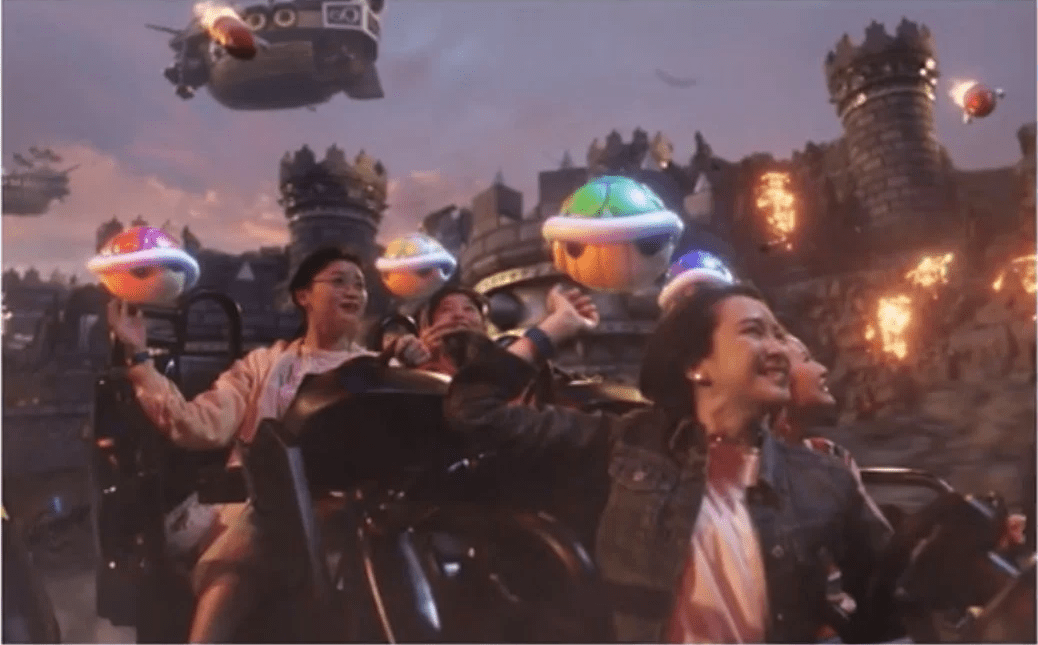 First Pics Of Universal S Super Mario Kart Attraction From Super