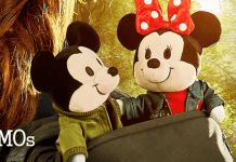 Mickey Mouse and Minnie Mouse Nuimo plush