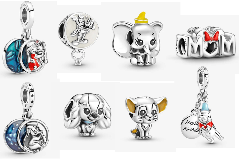 Pandora Releases New Disney Charms in Store and On Line