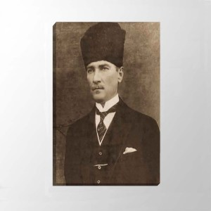 Atatürk Kanvas Tablo