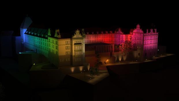 Nach der Sanierung von Schloss Sonnenstein soll das Gebäude ab 2012 auch in der Dunkelheit […]