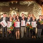 ganz links: unser Mediengestalter Konrad Behr