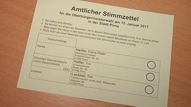 Am 15. Januar öffnen um 8 Uhr die Wahllokale in Pirna. Bereits im Vorfeld aber […]