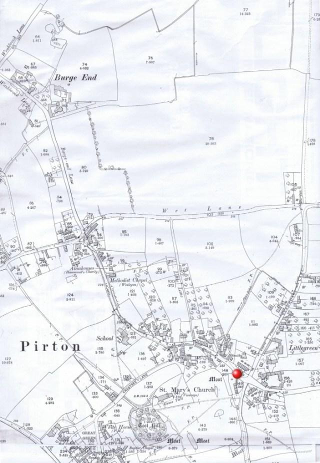 1895 Ordnance Survey map