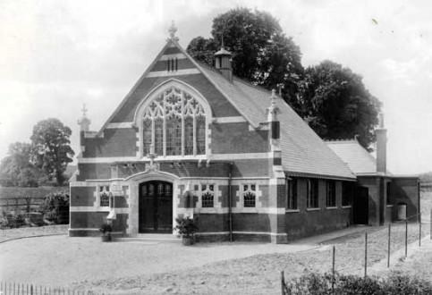 Pirton Wesleyan Methodist Church built in 1906.