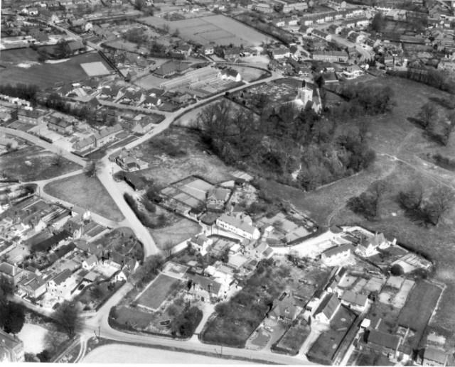 Aerial photo circa 1964