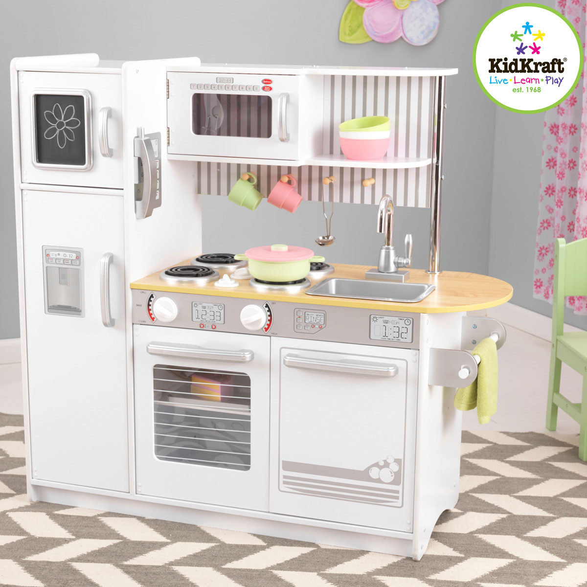 Kidkraft Uptown White Kitchen 53335