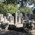 ruiny świątyni butrintu