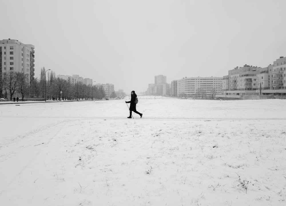 Zima na Ursynowie