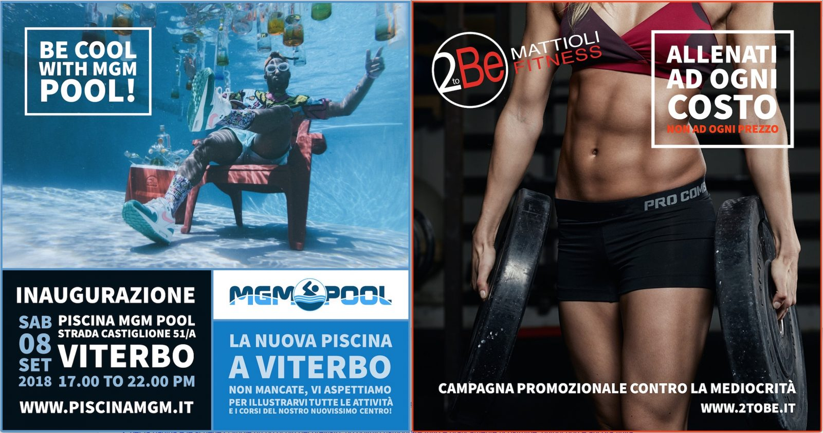 Nuova piscina a Viterbo - MGM Pool
