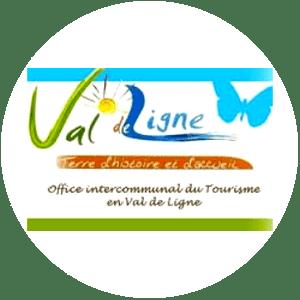 Logo Office de Tourisme Val de Ligne