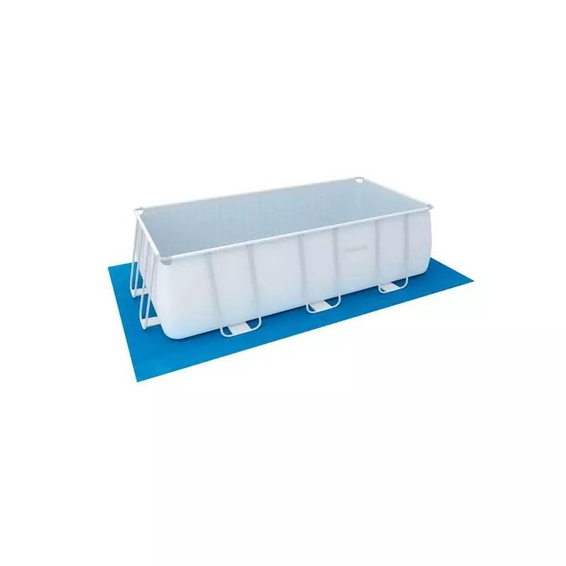 tapis de sol pour piscine bestway rectangulaire 4x2 m